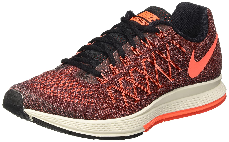 NIKE Women's Air Zoom Pegasus 32 Running Shoe B010OC2ZGA 6.5 B(M) US|Black/Bright Crimson/Orange