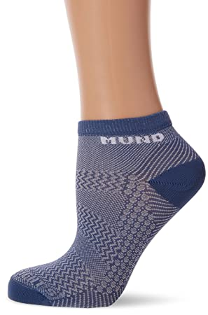 MUND Climbing - Calcetines para Mujer, Color Azul, Talla S (34-37