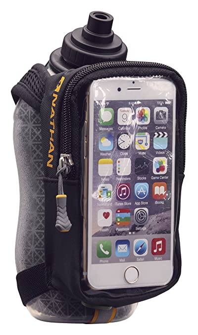 Nathan Handheld Water Bottle and Phone Case