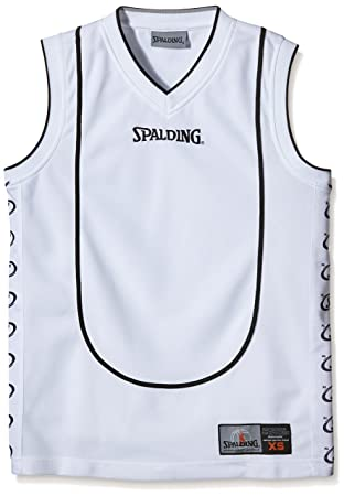 best deals on pretty cool sale online Spalding, play off Tank Top blanco Bianco (Weiß) Size:XXS ...