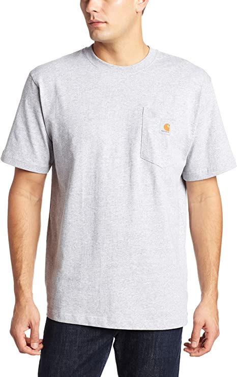 Carhartt Men/'s Work Wear Pocket T-shirt Cotton Regular K87 Short Sleeve