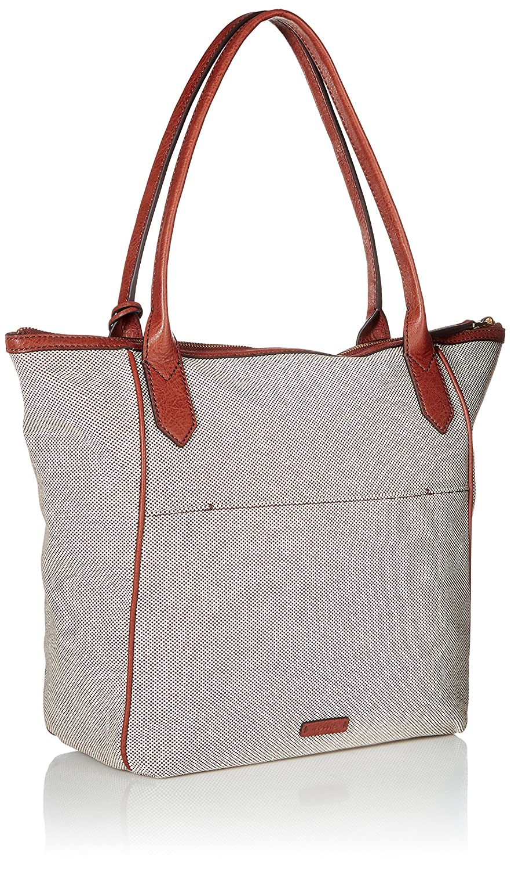 61c3f4544 Amazon.com: Fossil Fiona Tote Neutral Multi: Clothing