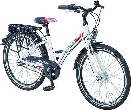 Prophete Madchen Alu Fahrrad 3 Gang Polarweiss Rahmenhohe 34 Cm