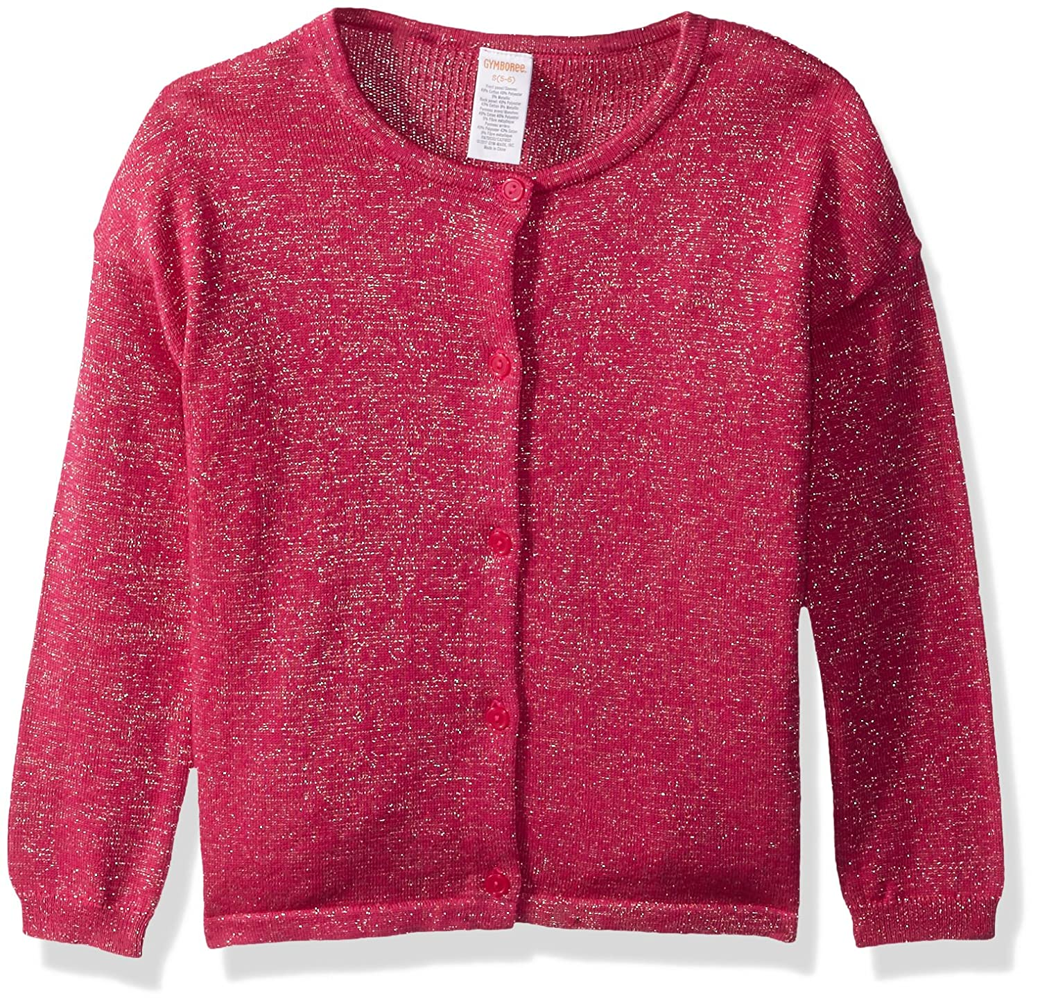 Gymboree Girls' Little Lurex Cardigan