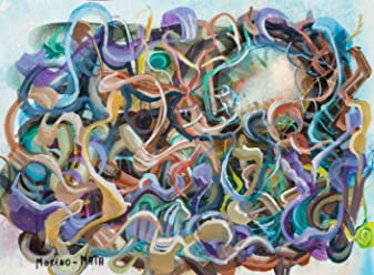 Planetarium VI Pintura Abstracta Original Hecha A Mano