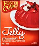 Foster Clarks Strawberry Jelly Crystal, 85 g