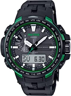 CASIO Men s watches PROTREK Triple Sensor Ver.3 equipped with the world six  stations Solar 3cfa240ae9