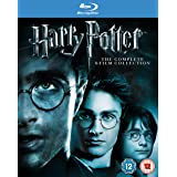 Harry Potter: Complete 8-Film Collection [Blu-ray] [Importado]
