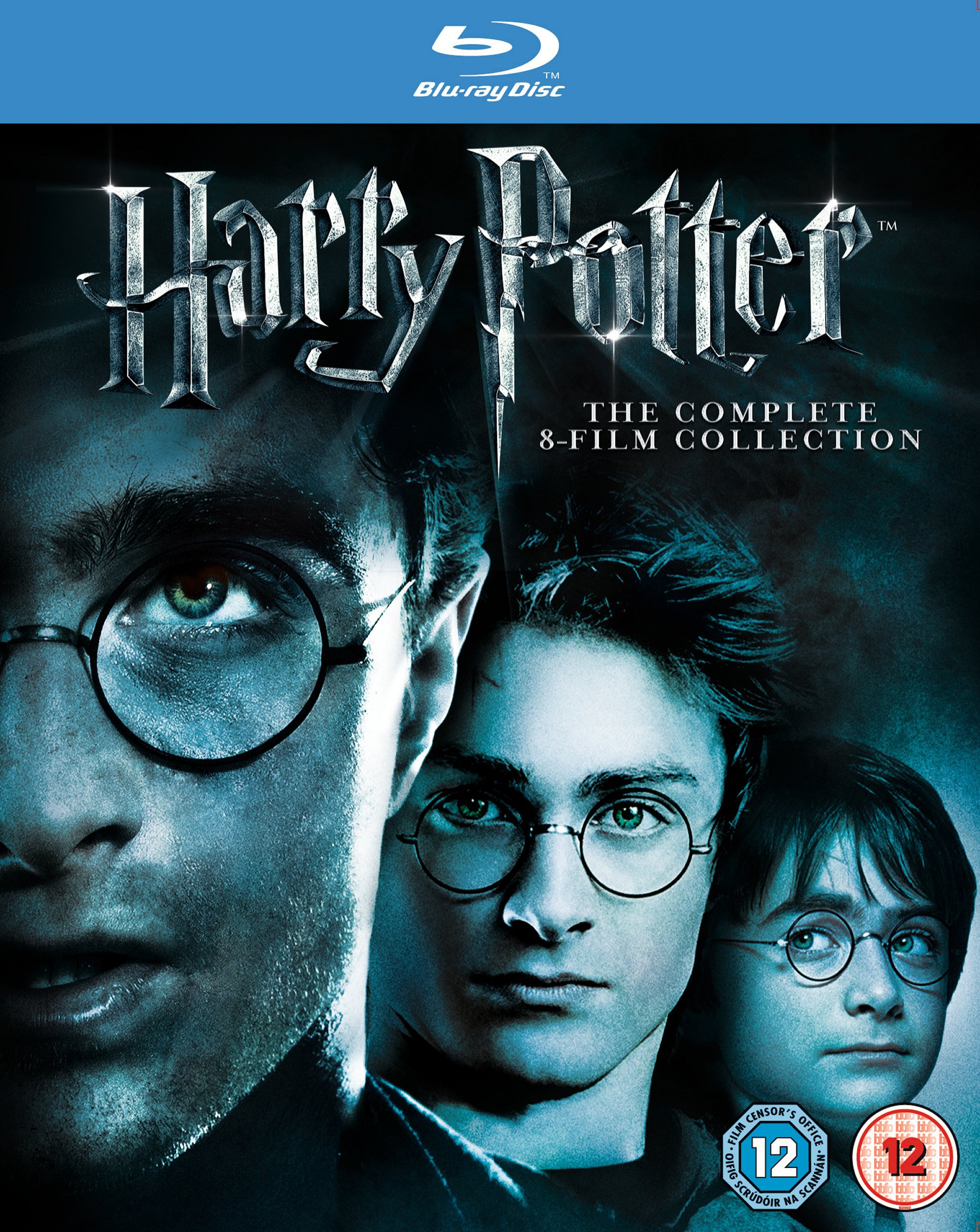 Blu-ray : Harry Potter: Complete 8-Film Collection