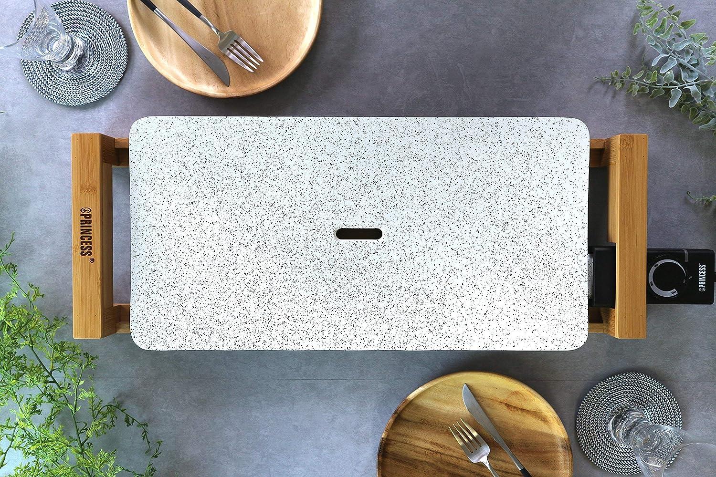 PRINCESS ホットプレート Table Grill Stone ホワイト 103033