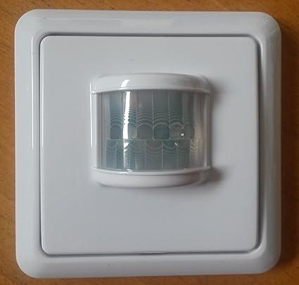 intertechno PIR-1000 Inalámbrico Pared Blanco detector de movimiento - Sensor de movimiento (Inalámbrico