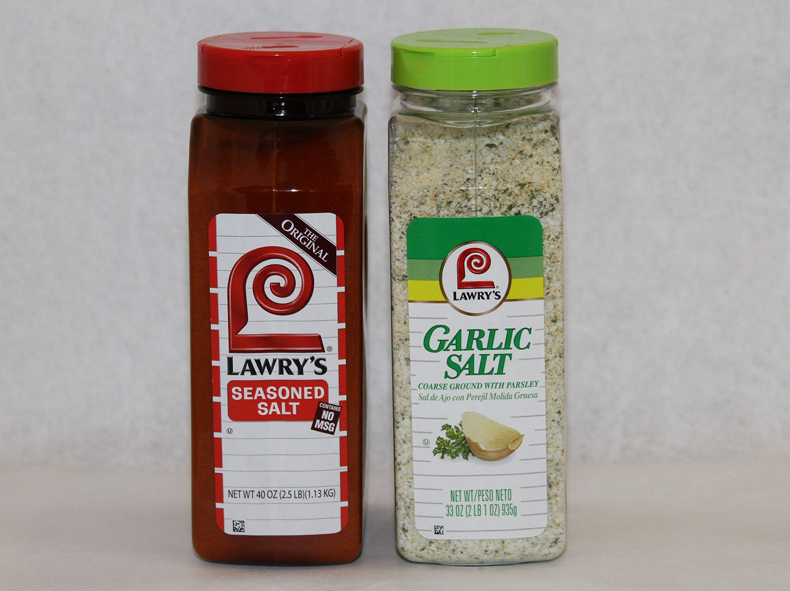 Lawry's Course Garlic Salt with Parsley & Season Salt Pack