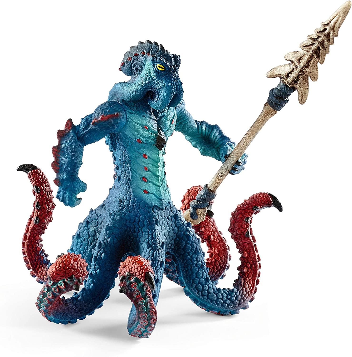 SCHLEICH Eldrador Monster Octopus with Weapon Imaginative Figurine for Kids Ages 7-12