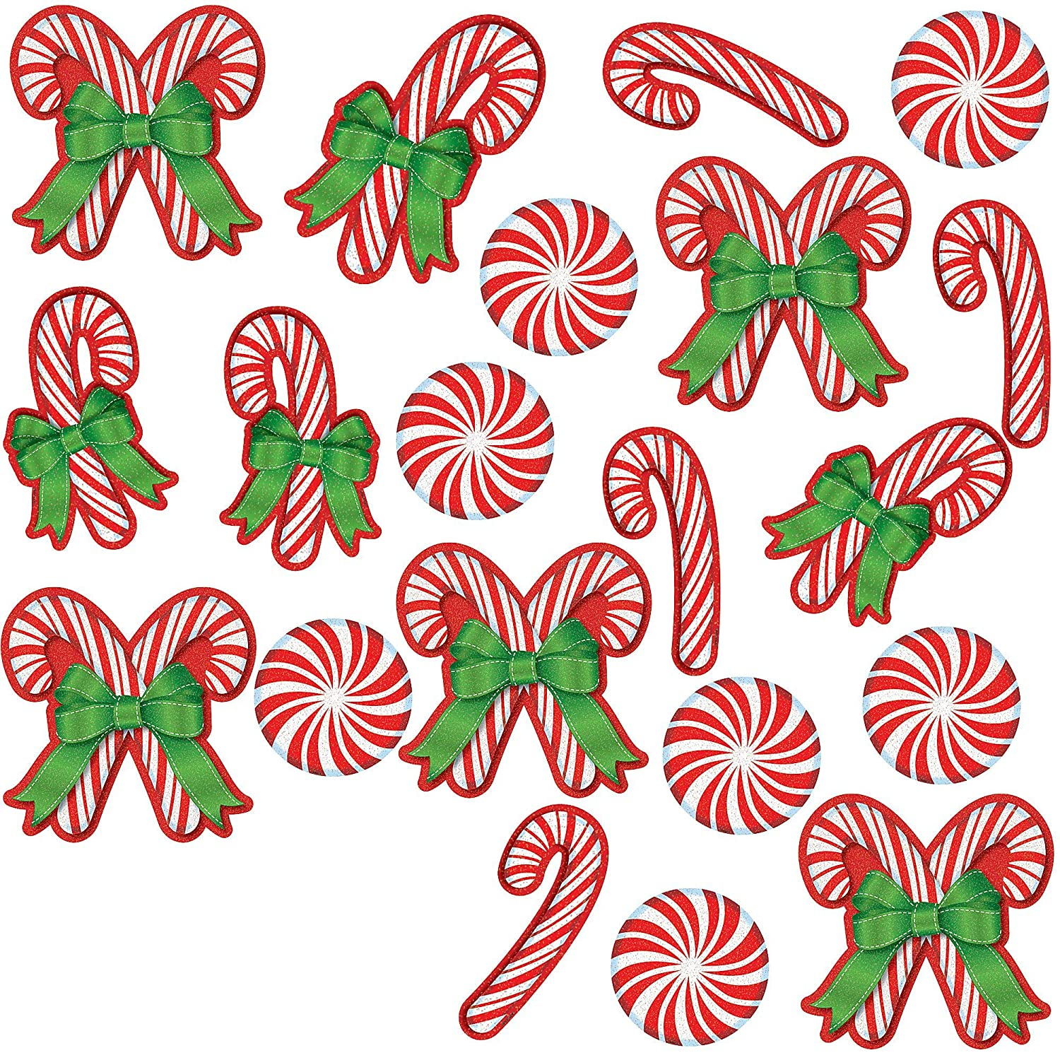 Christmas Cutouts.Amscan Christmas Paper Cutouts Mega Value Pack 20 Ct Party Decoration