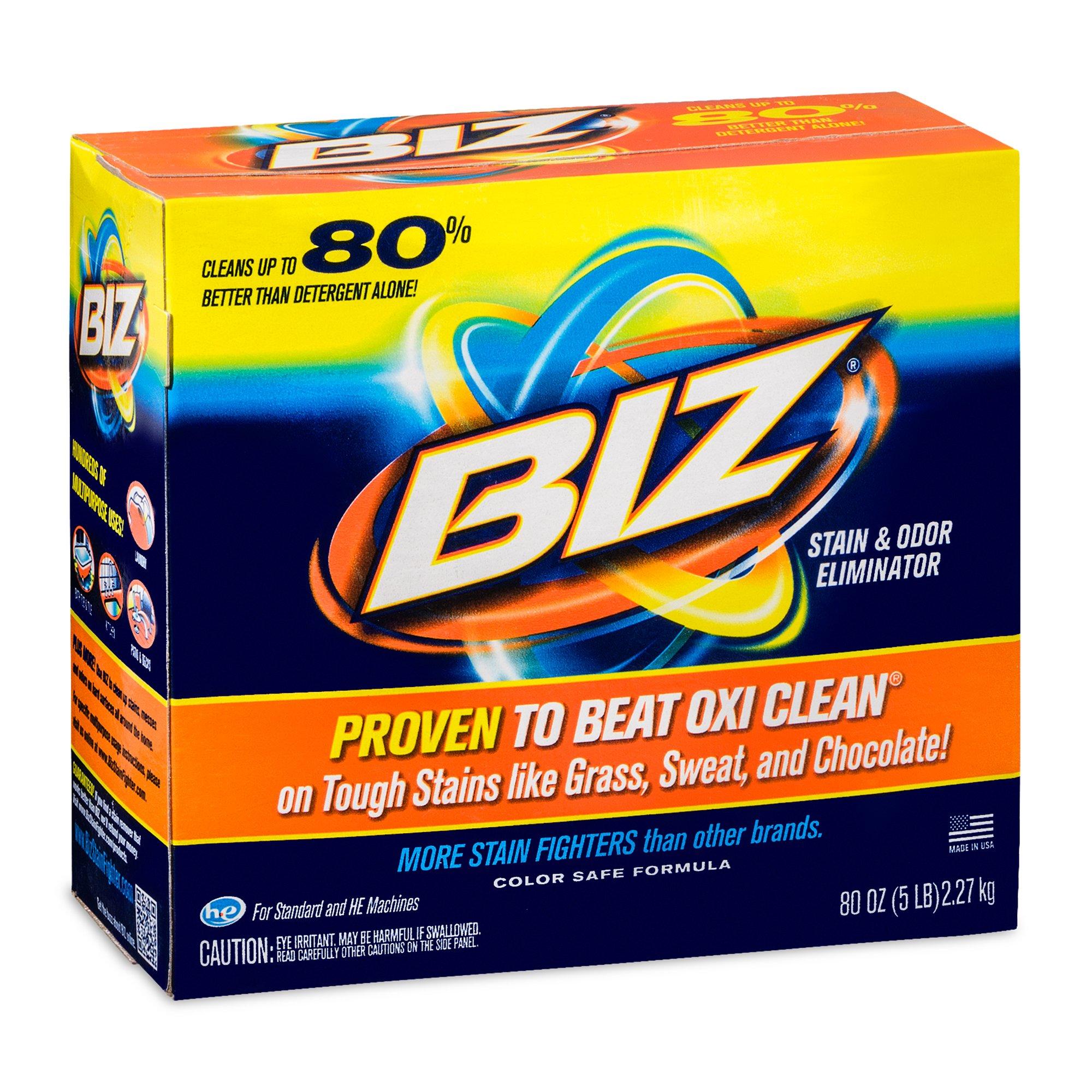 BIZ Stain & Odor Eliminator (5 lb Boxes)