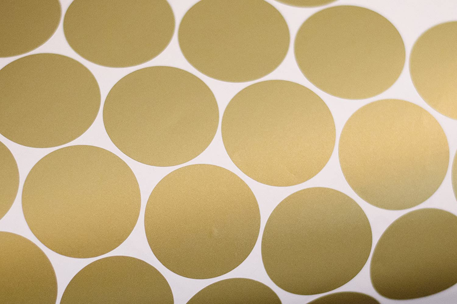 Amazon.com: Gold Wall Decal Dots (200 Decals) | Easy to Peel Easy to ...