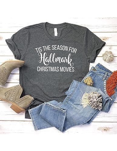 Hallmark Christmas T Shirt.Amazon Com Tis The Season For Hallmark Christmas Movies T