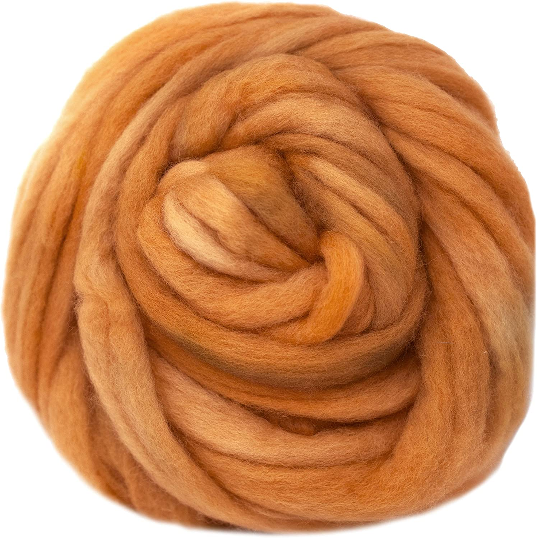 DHG Extra Fine Merino Wool Roving  Combed top Twilight 4 oz braid