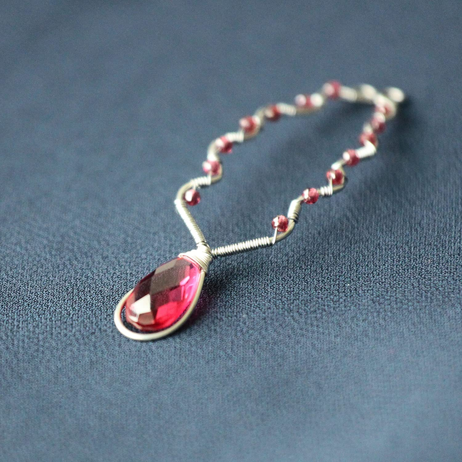 Amazon.com: No Piercing Clit Clip | Intimate Clitoral Jewelry | Stainless  Stell Clamp With Faceted Tourmaline: Handmade