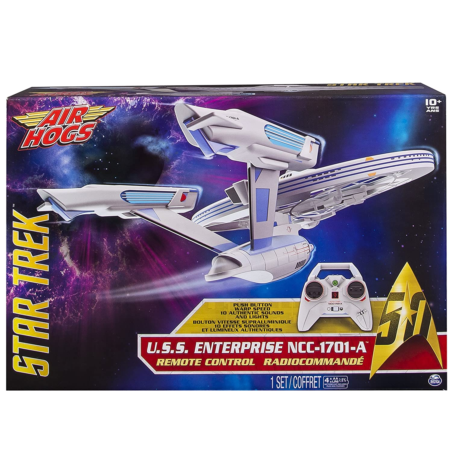 Spin Master Air Hogs Star Trek Enterprise - Juguetes de Control ...