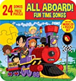 All ABOARD! FUN TIME SONGS (Includes 24 Piece Puzzle in Collector's box)