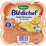 Blédina Blédichef Assiette Hachis Parmentier des Tout-Petits dès 12 Mois 230 g - Lot de 6
