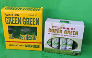Lucky Bamboo Plant Food Super Green and Green Green