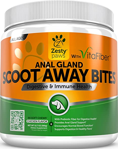 Amazon.com : Scoot Away Soft Chews for Dogs - With Digestive Enzymes on