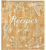 Eccolo World Traveler Cork Vegetables Recipe Keeper