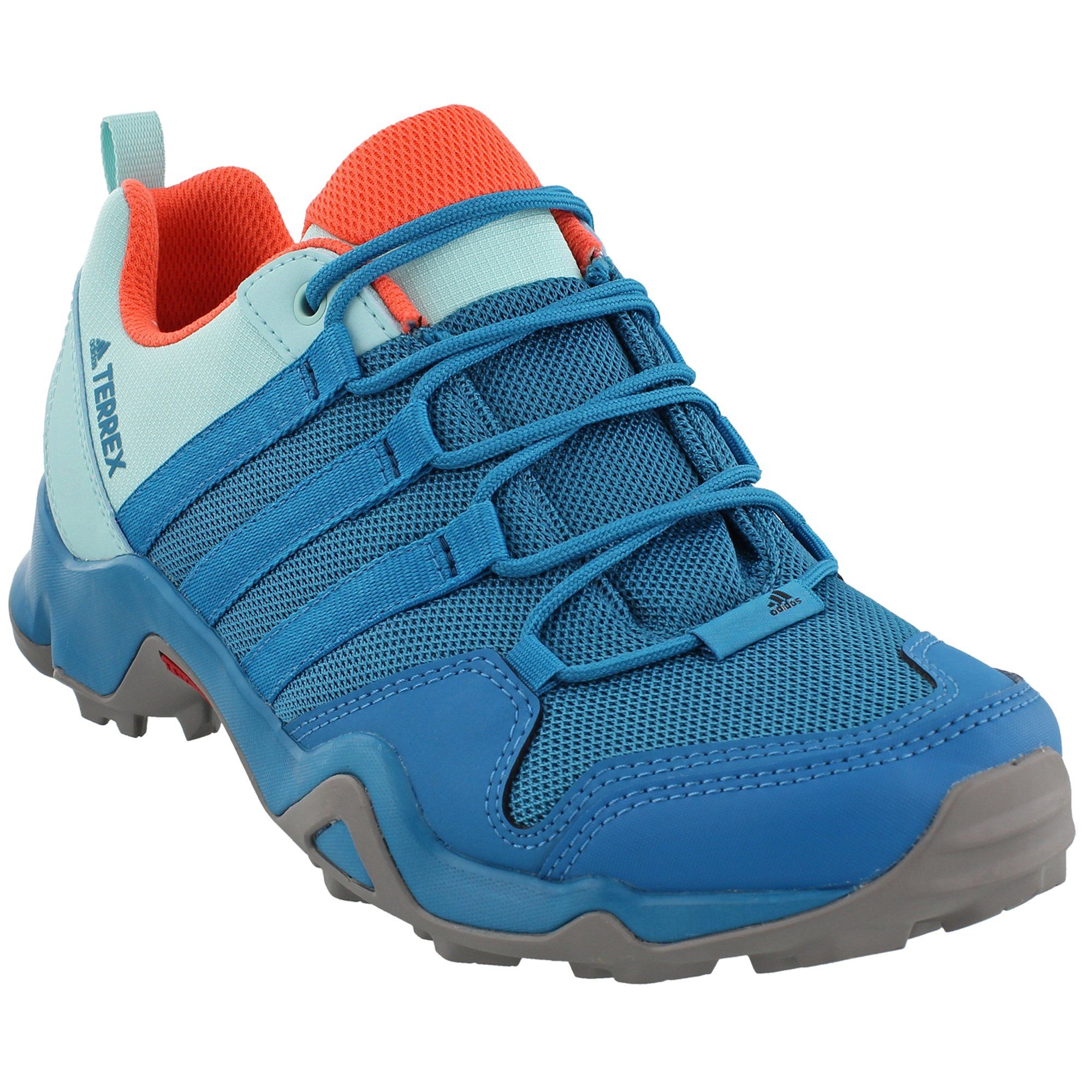 adidas outdoor Women's Terrex AX2R Mystery Petrol/Mystery Petrol/Easy Coral 9 B US