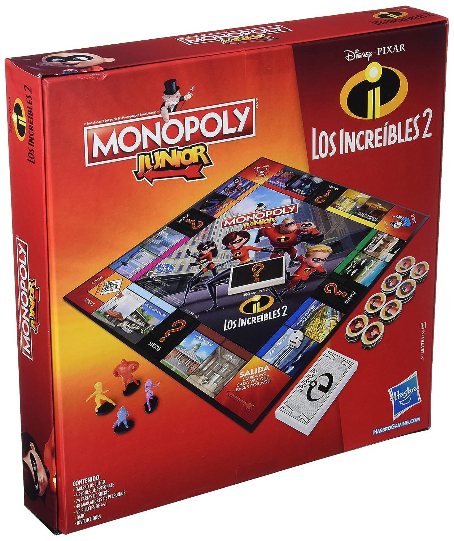 Amazon.com: Monopoly Junior – Incredible (Hasbro e1781105 ...