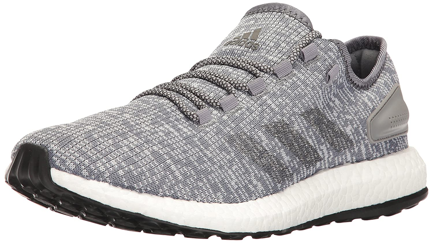 adidas Performance Men's Pureboost Running Shoe B01I0BDLFG 11 D(M) US|Grey/Dark Grey Heather/Clear Grey