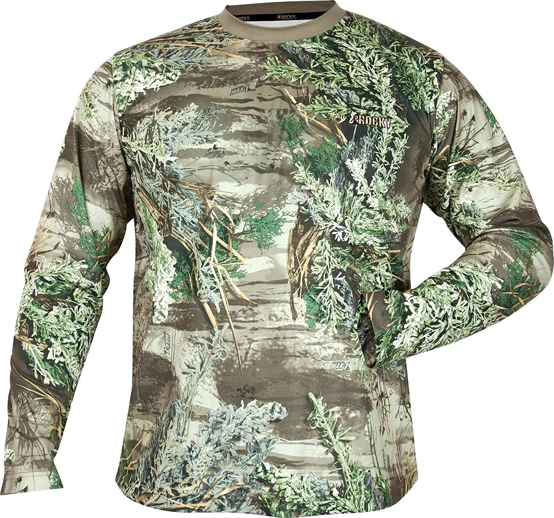 Rocky Mens Silent Hunter Long-Sleeve Performance Shirt