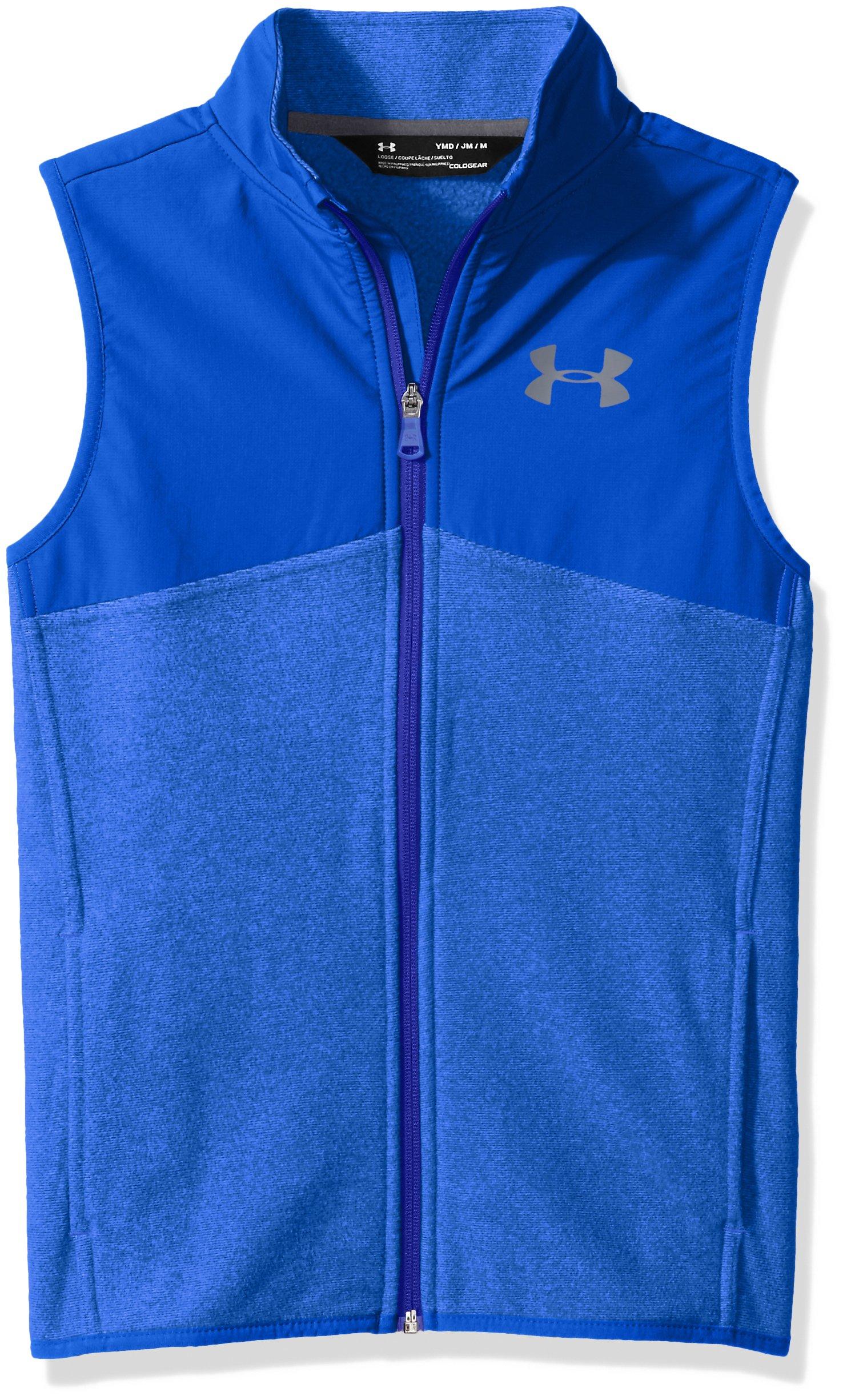 Under Armour Boys' Phenom Vest,Ultra Blue (907)/Graphite, Youth Large