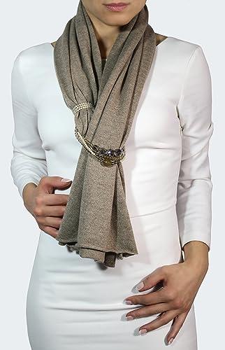 l'ultimo 4e587 9b585 Sciarpa gioiello, sciarpa elegante 100% Cashmire, sciarpe ...