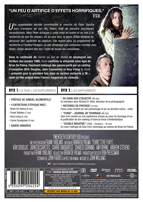 Furie [Francia] [DVD]: Amazon.es: Kirk Douglas, John ...