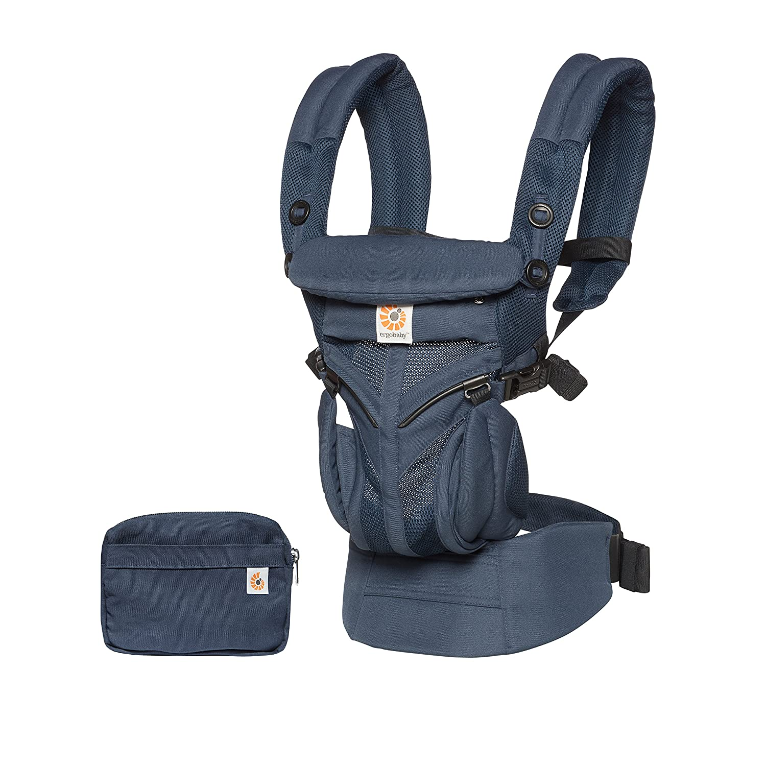 Ergobaby Babytrage Omni 360 Cool Air Farben Ergobaby:Midnight Blue