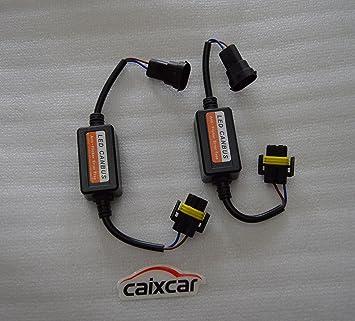 Cancelador error para bombillas led H8 H11 con canbus