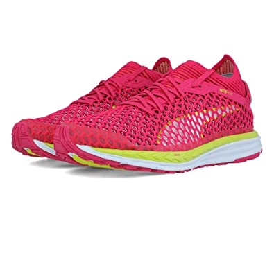 Puma Speed Ignite Netfit Women s Running Shoes Pink  Amazon.co.uk ... 2cd6eb5b9