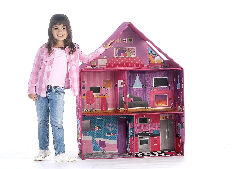 Amazon.com: Calego Modern Doll House: Toys & Games