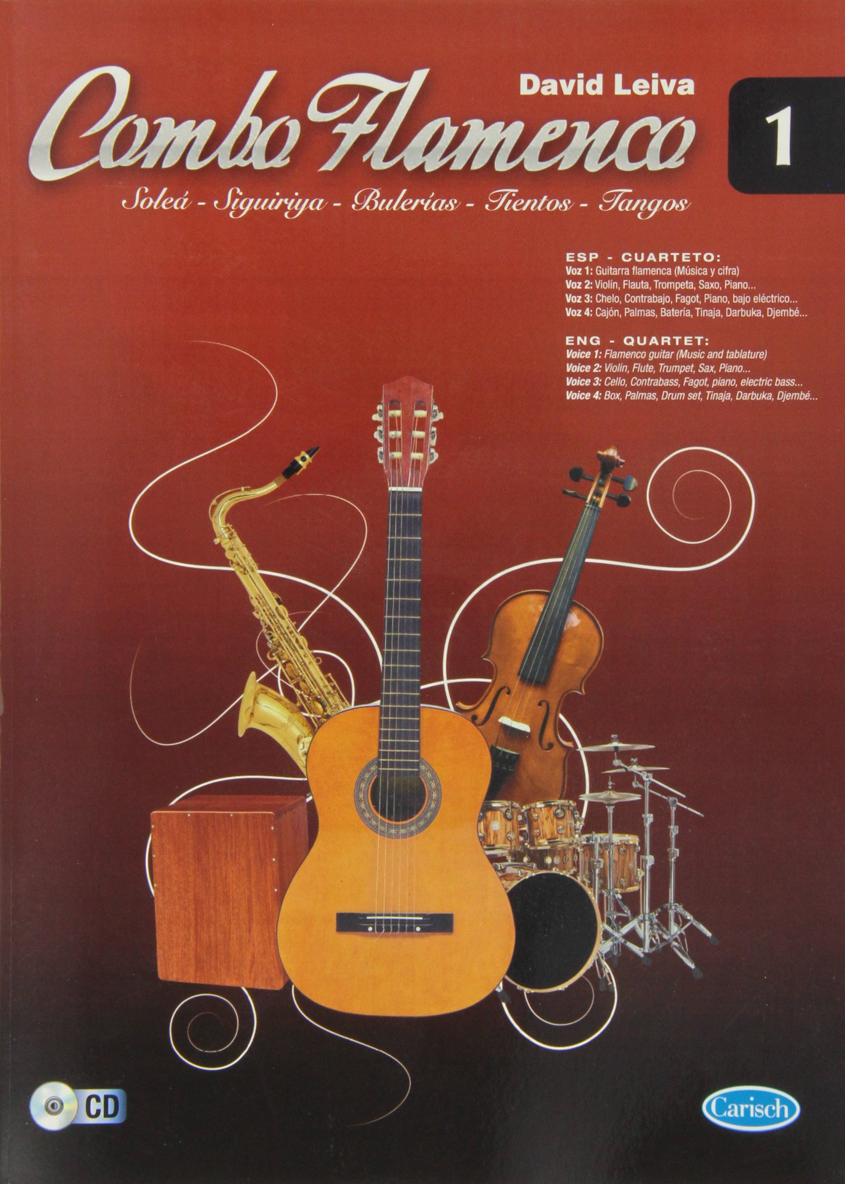 Combo Flamenco, Volume 1. Partitions, CD pour Guitare, Tous Les Instruments (German) Sheet music
