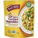 TASTY BITE Hot & Spicy Coconut Vegetables, Natural, 10 Oz, Pack of 6