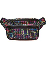 SoJourner Bags Fanny Pack - Classic Solid Bright Colors (Multiple Styles)