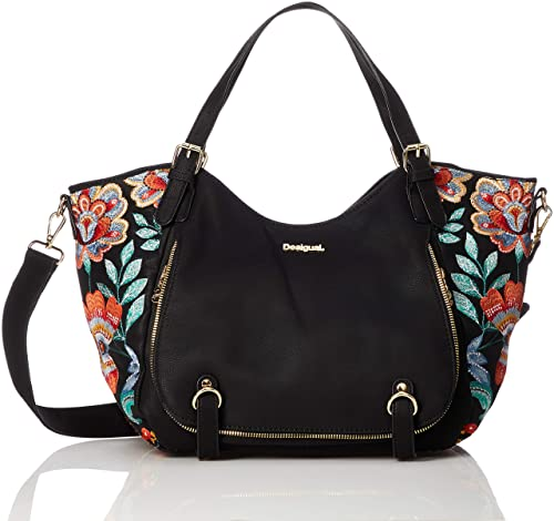 8f6b7badc0 DESIGUAL Bag ODISSEY Female Black - 18WAXP06-2000-U  Amazon.co.uk ...