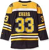 Zdeno Chara Youth Boston Bruins NHL Reebok Black Replica Jersey
