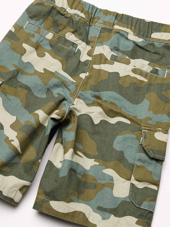 Essentials Boys Big Cargo Shorts 4T Camo