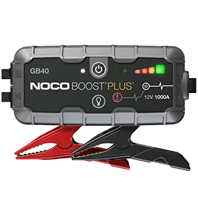 NOCO Boost Plus GB40 1000 Amp 12-Volt Ultra Safe Portable Lithium Car Battery Jump Starter Pack