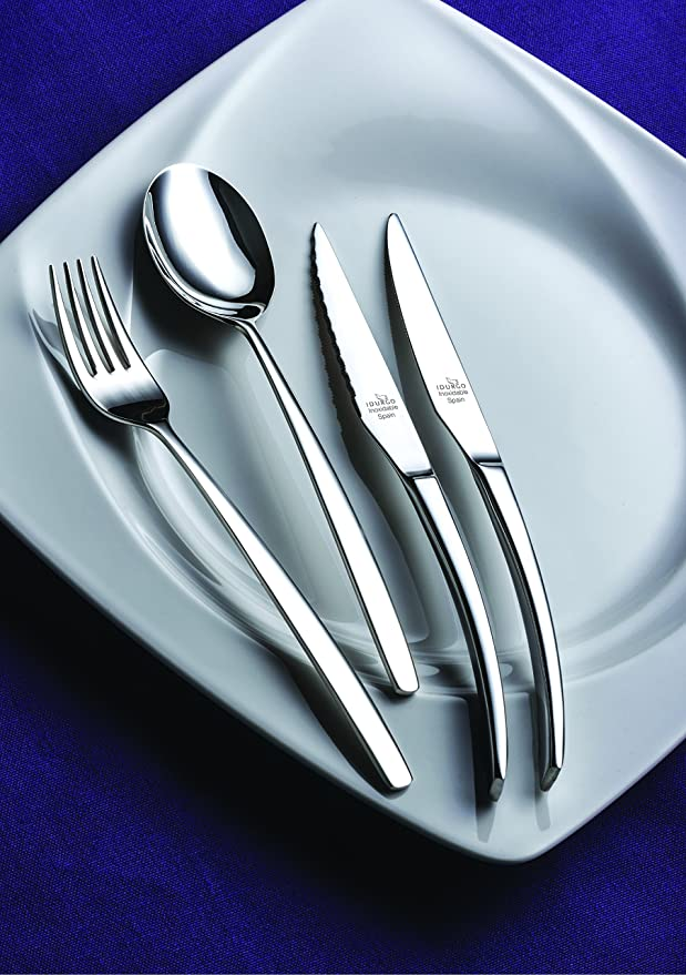 Amazon.com | idurgo Athenas Ref. 18000 Cutlery Set, Stainless Steel: Dinnerware Sets
