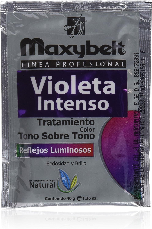 Maxybelt Tratamiento T/Tono, Color Violeta - 24 Bolsitas x 40 ...