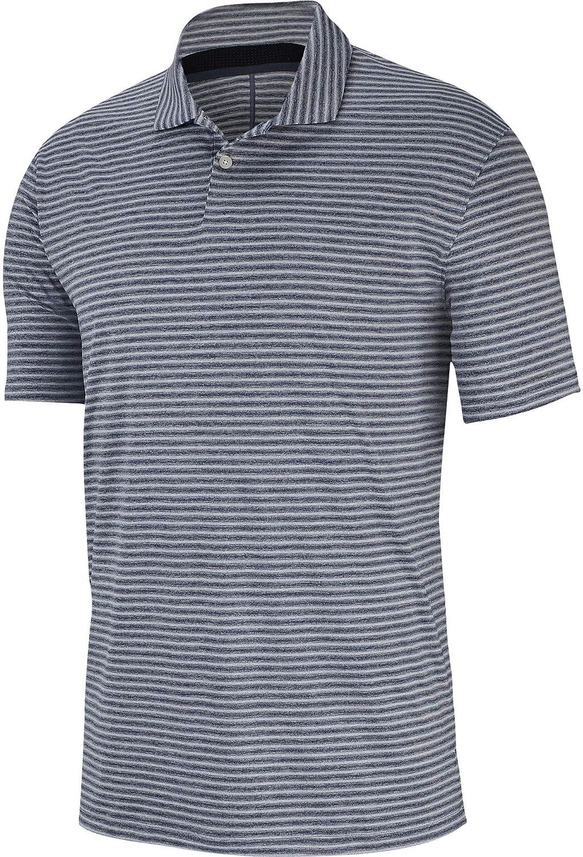[ナイキ] メンズ シャツ Nike Men's Tiger Woods Vapor Stripe Golf [並行輸入品] L  B07PB198F3